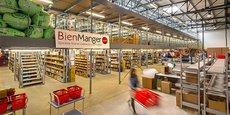 En 2020, 200.000 colis ont été envoyés depuis les entrepôts de logistiques de Bienmanger.com, en Lozère, près de La Canourgue.