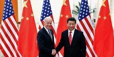 L'administration américaine affiche une ligne commune avec son grand rival chinois, pour lutter contre le défi mondial que représente le changement climatique (photo : en décembre 2013, alors que Joe Biden était le vice-président de Barack Obama)