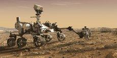 Perseverance va débouler sur Mars à très, très grande vitesse. A plus de 21.000 km/h. Mais il devra se poser en quelques minutes... à moins de 3 km/h.