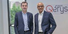Jérôme Teisseire, président, et Marc Hippomène, DG de Qérys