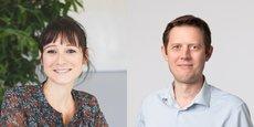 Julie Cenatiempo (Aquinov/Valuatis) et Ludovic Partyka (Primobox) co-président le Réseau Entreprendre Aquitaine