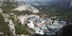 Le site de production de Sormiou a alimenté les 1 300 logements alimentés au gaz vert