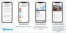 L'innovation Woosmap Merchant API que Web Geo Services lance dans le secteur bancaire.