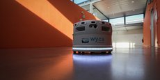 Le robot Elodie peut transporter 150 kg.