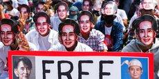 BIRMANIE: AUNG SAN SUU KYI DE NOUVEAU ACCUSÉE, LES MANIFESTATIONS SE POURSUIVENT
