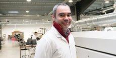 Pierre-Yves Sempere, gérant d'EMS Proto dans son usine de Martillac.