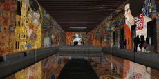 Gustav Klimt : l'expo qui a fait sauter les compteurs de fréquentation en 2020 à la Base sous-marine de Bordeaux.