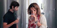 Françoise Antech, vigneronne dans l'Aude (Limoux), lancera son Spritz à la française au printemps.