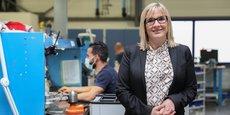 Sabine Tertre, présidente d'Air Support depuis 2017.