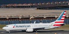 Un B377 MAX d'American Airlines