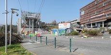 Entre les deux stations terminus situées à l'Oncopole et à l'université Paul Sabatier, le futur téléphérique urbain de Toulouse passera par l'hôpital Rangueil.