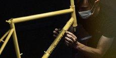 Chaque vélo Dilecta, fabriqué en Indre et Loire, est numéroté.