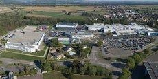 Merck est présent à Molsheim depuis 1972. Le groupe allemand emploie 1.650 salariés sur son site alsacien.