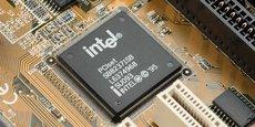 Intel domine l'investissement en R&D dans l'industrie des semi-producteurs, avec une part d'environ 19% du total de ce secteur en 2020. (Source: Vipress)