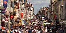 Le centre-ville de Villefranche-sur-Saône se hisse à la première place des villes de taille moyenne dont la fréquentation a le mieux résisté à la période du Covid-19.