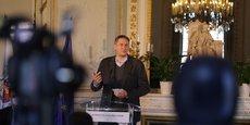 Nicolas Gaume, le CEO de Space Cargo Unlimited, dans les salons de la mairie de Bordeaux, le 24 mars 2021.