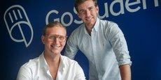 Félix Ohswald (PDG) et Gregor Müller (DG) ont fondé GoStudent en 2016.