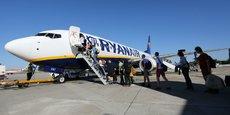 Ryanair a fait voyager 873.000 passagers enregistrés en 2019 depuis Toulouse.