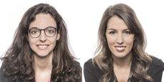 Roxane Blanc-Dubois et Stéphanie Lapeyre, avocates spécialistes des nouvelles technologies travaillant au sein du cabinet August Debouzy.