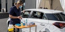 Le vaccidrive, qui a ouvert le 13 avril à la Clinique Saint-Jean Sud de France, à côté de Montpellier, devrait permettre la vaccination de 1.400 personnes par semaine.