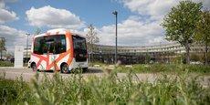 Depuis début mars, la navette autonome d'EasyMile est une nouvelle fois testée à Toulouse.