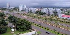 Malabo, capitale de la Guinée équatoriale.
