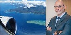 Didier Tappero, directeur général d'Aircalin, la seule compagnie aérienne française en Nouvelle-Calédonie.