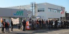Les salariés de AAA avaient manifesté contre le plan social à l'automne dernier.