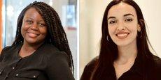 Ileana Santos et Amina Zakhnouf, fondatrices de JMA (Je M'engage pour l'Afrique).