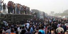 EGYPTE: LE BILAN DE L'ACCIDENT DE TRAIN DE DIMANCHE S'ÉLÈVE À 23 MORTS