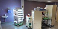 Testé en mars dernier, dans le service d'endoscopie thoracique de l'Hôpital Nord Laennec, à Nantes Le Husky-UV a désinfecté les 50 m² de la salle d'endoscopie en six minutes.