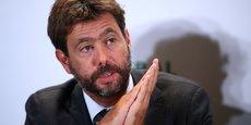 Andrea Agnelli, le président de la Juventus de Turin, est l'un des cerveaux du projet de Super League avec Florentino Pérez, son homologue du Real Madrid.
