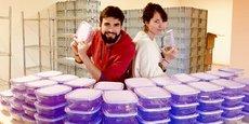 Céline et Jonathan Gorin, fondateurs d'Etic Emballages.
