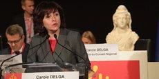 Carole Delga, président de la Région Occitanie.