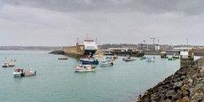 Des bateaux français manifestent à Jersey, en mai dernier.