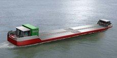 Présenté comme un ponton autopropulsé par ses concepteurs, le Zulu 6 circulera sur la Seine à partir de la fin de l'année.
