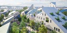Emblématique des années Juppé, la ZAC Bastide Niel, dessinée par Winy Maas, a été revue pour laisser davantage de place à la végétation, aux logements traversants et aux espaces partagés.
