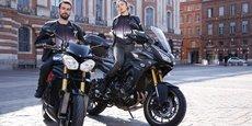 Basée à Toulouse, la startup Chill Ride commercialise un gilet rafraichissant pour motards.