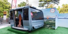 Tisséo a dévoilé le design des cabines du futur téléphérique urbain de Toulouse.