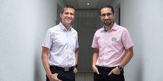 Stéphane Bascobert et Amine Karray ont fondé la société Innov'ATM.