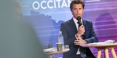Vincent Terrail-Novès, candidat LREM aux élections régionales d'Occitanie, lors du débat organisé par La Tribune, mardi 1er juin, à Toulouse.