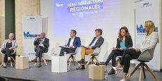 Geneviève Darrieussecq, Alain Rousset, Nicolas Thierry, Nicolas Florian, Clémence Guetté, Edwige Diaz.