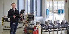 L'usine de Brumath (550 salariés) est spécialisée dans l'assemblage de systèmes d'entraînement et d'automatisation.