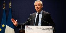 M. Le Maire, a appelé lundi 7 juin à Bercy, les investisseurs, notamment étrangers, à se mobiliser pour que la France puisse faire apparaître d'ici à 2025 au moins 25 licornes, ces entreprises dont la valeur dépasse le milliard d'euros, contre 14 aujourd'hui.