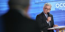 Jean-Paul Garraud, le candidat RN aux élections régionales d'Occitanie, lors du débat organisé par La Tribune, mardi 1er juin, à Toulouse.