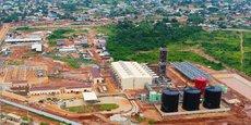 La centrale thermique de Maria Gléta2 (127MW), située dans la localité d'Abomey-Calavi, à 10km de la capitale économique béninoise, Cotonou.