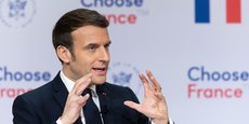 Depuis 2017, Emmanuel Macron réunit chaque année à Versailles, juste avant le Sommet de Davos, des patrons internationaux pour les pousser à investir en France.