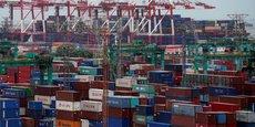 Le prix moyen pour l'acheminement d'un container entre Shanghai (photo) et l'Europe occidentale est passé de 890 dollars en juin 2020 à 3.800 dollars en décembre et 6.351 dollars en juin.