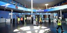 L'entrée du Mobile World Congress, ce vendredi 25 juin.