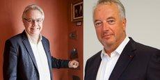 De gauche à droite: Pascal Boulanger, nouveau président de la fédération des promoteurs immobiliers (FPI), et Christian Terrassoux, président délégué de la FPI.
